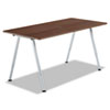ICE68214 OfficeWorks Teaming Table Top, 60w x 30d, Walnut ICE 68214