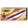 BICVLGB11BE Velocity Ballpoint Retractable Pen, Blue Ink, Bold, Dozen BIC VLGB11BE