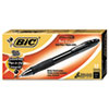 BICVLGB11BK Velocity Ballpoint Retractable Pen, Black Ink, Bold, Dozen BIC VLGB11BK