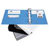 AVE05601 Nonstick Heavy-Duty EZ-Turn Ring View Binder, 3