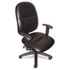 MLN2424AGBLT 24-Hour High-Performance Task Chair, Black Leather MLN 2424AGBLT