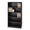 MLNAB5S36LDC Aberdeen Series Laminate 5-Shelf Bookcase, 36w x 15d x 68¾h, Mocha MLN AB5S36LDC