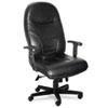 MLN9413AGBLT Comfort Series Executive High-Back Chair, Black Leather MLN 9413AGBLT