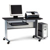 MLN8100TDANT Eastwinds Mobile Work Table, 57w x 23½d x 29h, Anthracite MLN 8100TDANT