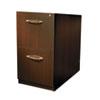 MLNAFF20LDC Aberdeen Series File/File Credenza Pedestal, 15¼w x 20d x 27½h, Mocha MLN AFF20LDC