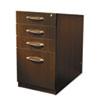 MLNAPBBF26LDC Aberdeen Series Pencil/Box/File Laminate Desk Pedestal 15¼w x 26½d x 27½h, Mocha MLN APBBF26LDC
