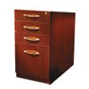 MLNAPBBF26LCR Aberdeen Series PBBF Laminate Desk Pedestal, 15¼w x 26½d x 27½h, Cherry MLN APBBF26LCR