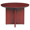 MLNCTRNDCRY Corsica Conference Series Round Table, 42 dia. x 29½h, Sierra Cherry MLN CTRNDCRY