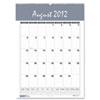 HOD352 Bar Harbor Wirebound Academic Monthly Wall Calendar, 12 x 17, 2012-2013 HOD 352