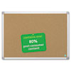 BVCCA031790 MasterVision Earth Cork Board, 24 x 36, Aluminum Frame BVC CA031790