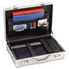 USLAC10010 Aluminum Attaché Case, 17-1/2 x 5 x 12-1/2, Silver USL AC10010