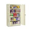 TNNJ2478SUPY Assembled Jumbo Steel Storage Cabinet, 48w x 24d x 78h, Putty TNN J2478SUPY