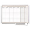 BVCGA0396830 MasterVision Weekly Planner, 36x24, Aluminum Frame BVC GA0396830
