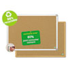 BVCCA021790 MasterVision Earth Cork Board, 18x24, Aluminum Frame BVC CA021790