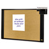 MMMA4836G Sticky Cork Board, 48x36, Frame Color Graphite MMM A4836G