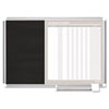 BVCGA0287830 MasterVision In-Out and Notice Board, 24x18, Silver Frame BVC GA0287830