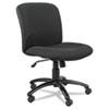 SAF3491BL Uber Series Big & Tall Swivel/Tilt Mid Back Chair, Black SAF 3491BL
