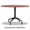 SAF2654CY RSVP Series Round Table Top, Laminate, 42
