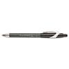 PAP85582 FlexGrip Elite Ballpoint Retractable Pen, Black Ink, Fine, Dozen PAP 85582
