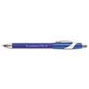 PAP85581 FlexGrip Elite Ballpoint Retractable Pen, Blue Ink, Medium, Dozen PAP 85581