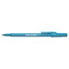 PAP3311131 Ballpoint Stick Pen, Blue Ink, Medium, Dozen PAP 3311131