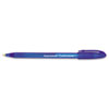 PAP6160187 ComfortMate Ballpoint Stick Pen, Blue Ink, Fine, Dozen PAP 6160187
