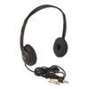 APLSL1006 Personal Multimedia Stereo Headphones w/Volume Control, Black APL SL1006