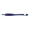 PENPD347TC Quicker Clicker Mechanical Pencil, 0.7 mm, Transparent Blue Barrel PEN PD347TC