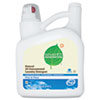 SEV22803 Natural 2X Concentrate Laundry Liquid, Free & Clear, 150 oz. Bottle SEV 22803