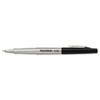 PAP8330152 Flair Porous Point Stick Free-Flowing Liquid Pen, Black Ink, Ultra Fine, Dozen PAP 8330152