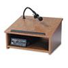 AmpliVox Sound System Tabletop Lectern