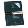 SOU41SM 25% Cotton  Manuscript Covers, Blue, 30 lbs., Wove, 9 x 12-1/2,  100/Box SOU 41SM