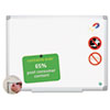 BVCCR0820030 MasterVision Earth Ceramic Dry Erase Board, 36x48, Aluminum Frame BVC CR0820030