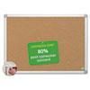 BVCCA271790 MasterVision Earth Cork Board, 48 x 72, Aluminum Frame BVC CA271790