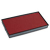 COS065470 2000 PLUS Replacement Ink Pad for Printer P30 & Dual Pad Printer P30, Red COS 065470