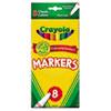 CYO587709 Non-Washable Markers, Fine Point, Classic Colors, 8/Set CYO 587709