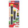 PENC29BPHB3 Super Hi-Polymer Lead Refills, 0.9mm, HB, Black, 3 Tubes of 30, 90/Pack PEN C29BPHB3