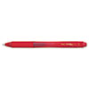 PENBL107B EnerGel X Retractable Roller Gel Pen, Red Ink, Dozen PEN BL107B