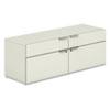 HONVCL60FB Voi Low Credenza, 2 Box/2 File Drawers, 60w x 20d x 21-1/2h, Silver Mesh HON VCL60FB