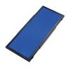 QRTSB93501Q Display System Optional Header Panel, Fabric, 24 x 10, Blue/Gray/Black PVC Frame QRT SB93501Q