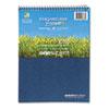 ROA13363 Environotes Sugarcane Notebook, 8 1/2 x 11 1/2, Flipper, 80 Sheets, College Rule ROA 13363