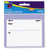 AVE45280 Label Pads, 3 x 4, White, 40/Pack AVE 45280