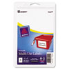 AVE05444 Print or Write Removable Multi-Use Labels, 2 x 4, White, 100/Pack AVE 05444