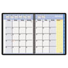 AAG760605 QuickNotes Recycled Monthly Planner, Jan.-Dec., Black, 8 1/4