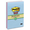 Post-it Notes Super Sticky Recycled Notes in Tropic Breeze