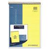 MEA59880 Cambridge Premium Wirebound Legal Pad, Legal Rule, Letter, Canary, 70 Sheets/Pad MEA 59880