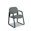 SAF7047GR Cava Urth Collection Sled Base Guest Chair, Gray SAF 7047GR