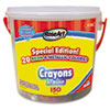 RoseArt Crayons Classic Colors Bucket