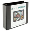 UNV30773 Comfort Grip Round Ring View Binder, 3