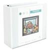 UNV30754 Comfort Grip Deluxe Plus D-Ring View Binder, 4